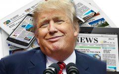 Trump against the media