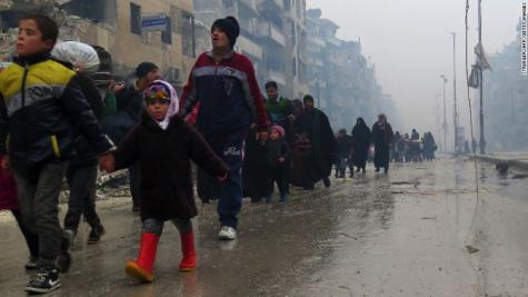 Aleppo's final moments