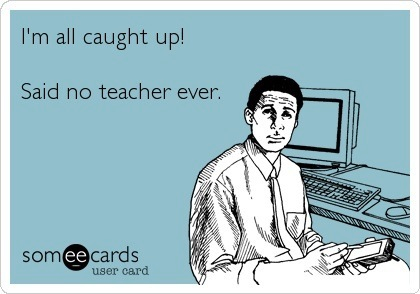 Teachers are stressed too?