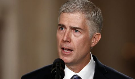 Gorsuch goes to Supreme Court