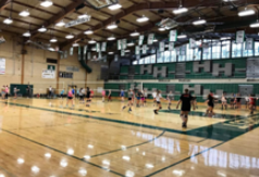 HHS Volleyball skills camp