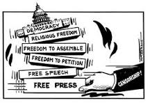Freedom of the press? Trump says no thanks.