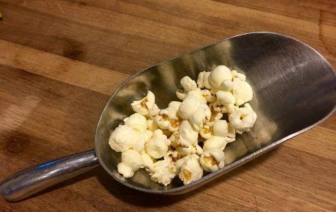 Healthy delicious popcorn