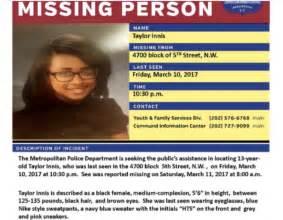 Missing teens in DC