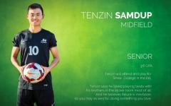 Tenzin Samdup: A passion for soccer
