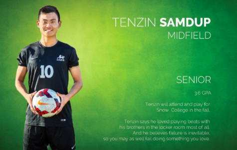 Tenzin Samdup: A passion for soccer