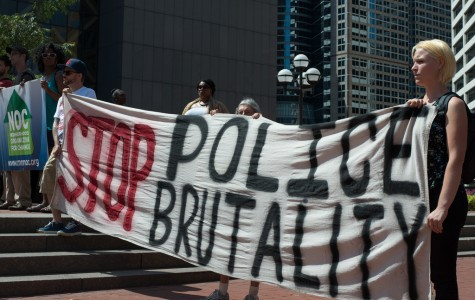 Rally against police brutality outside Minneapolis Police Department