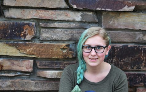Of pizza, sugar, and blue hair: Morgan Oviatt