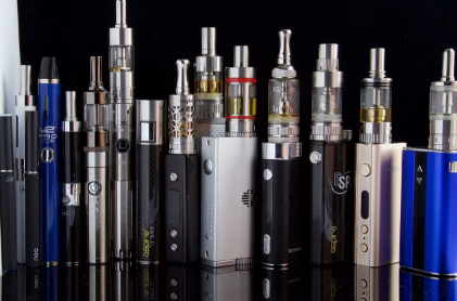 E-cigs: There's no quitting here