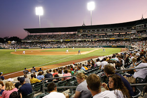 Salt Lake Bees week 1-4 schedule