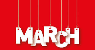 Remaining National Food Days in March
