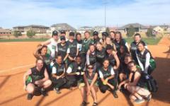 Girls softball take on Taylorsville