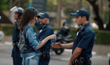 Inspiring Pepsi commercial?