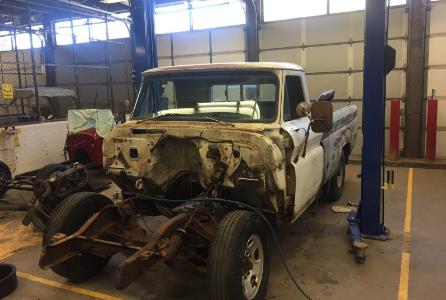 Rusty restoration