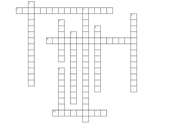 December crossword puzzle