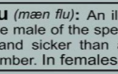 Man flu, or common cold?