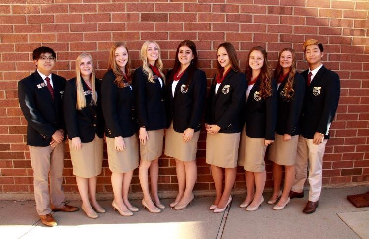 Utah State FBLA Officers