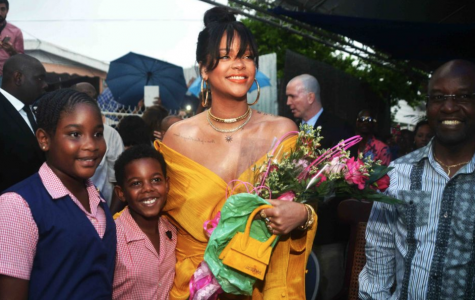 "Rihanna puts in the ""work work work"" for Barbados"
