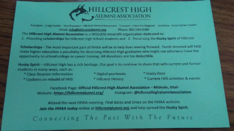 For the past and the future: Hillcrest High Alumni Association