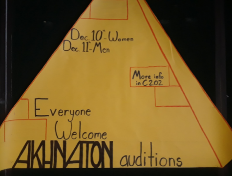 Akhnaton auditions