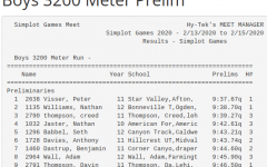 Anthony Davies, breaking school records as he places first at Simplot Nationals