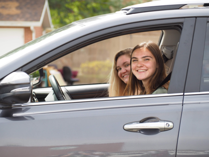 Hillcrest hosts drive-through graduation