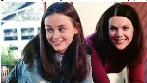 """Alexis Bledel and Lauren Graham in """"Gilmore Girls"""""""