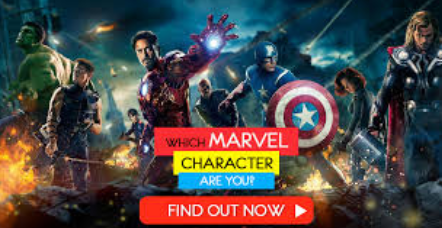 What Marvel character are you?