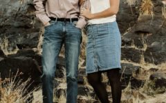 Melissa Guymon and her husband.