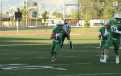Anthony Vail during the 2020-2021 high school football season