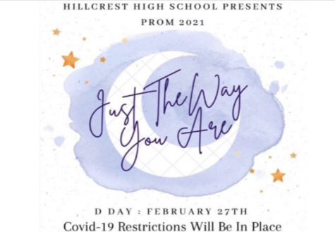 """The theme for prom this year is """"Just the way you are"""""""