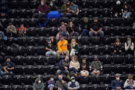 NBA fans return to the stands